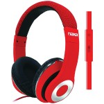 BACKSPIN Pro Headphones with Microphone - Red