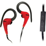 SPIRIT Sport Earphones with Microphone - Red
