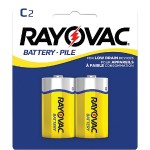 Rayovac Heavy-Duty Zinc Carbon Batteries (C; 2 pk) 4C-2BF