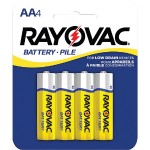 Rayovac Heavy-Duty AA Batteries, 4 pk 5AA-4F