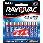AAA Alkaline Batteries (8 pk)
