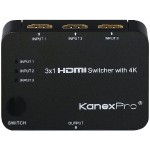 HDMI 3 x 1 Switcher with 4K Support
