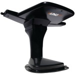 KING Jack Aerial Mount HD Antenna with Signal Meter (Black)
