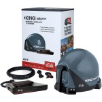 King Controls Tailgater Bundle with DISH HD Receiver VQ4550