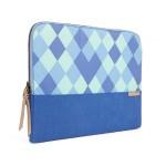 "13"" Grace Laptop Sleeve - Blue Diamonds"
