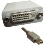 Professional Cable Mini DisplayPort to DVI Adapter for Apple MDP-DVI