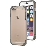 iPhone 6 Plus/6s Plus Slim Shell PRO Case (Clear/Light Gray)