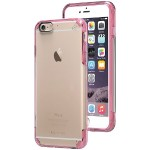 iPhone 6 Plus/6s Plus Slim Shell PRO Case (Clear/Pink)