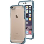 iPhone 6 Plus/6s Plus Slim Shell PRO Case (Clear/Blue)