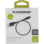 "9"" Round Charge and Sync Cable for Micro USB Devices (Slate)"
