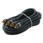 Dual RCA Stereo Cables (75ft)