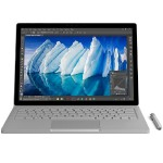 "Surface Book Intel Core i7-6600U Dual-Core 2.60GHz Commercial Laptop - 8GB RAM, 256GB SSD, 13.5"" PixelSense Touchscreen, 802.11ac + Bluetooth, Front and Rear Cameras, Silver - Refurbished"