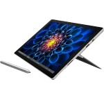 "Surface Pro 4 Intel Core i5-6300U Dual-Core2.40GHz Educational Tablet - 8GB RAM, 256GB SSD, 12.3"" PixelSense Touchscreen, 802.11ac + Bluetooth, Front and Rear Cameras, Silver - Refurbished"