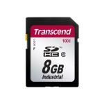 Industrial Temp SDHC100I - Flash memory card - 8 GB - Class 10 - SDHC