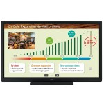 """AQUOS BOARD 80"""" Class 1920x1080 Edge Lit LED Interactive Display System"""