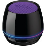 Bluetooth Speaker with Glow Ring (Purple)