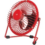 GPX USB Fan (Red) AU25R