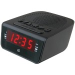 "GPX .6"" LED AM/FM Alarm Clock C224"