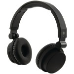 Bluetooth Headphones with Microphone (Matte Black)