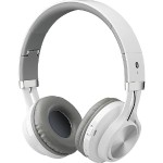 Bluetooth Headphones with Microphone (White)