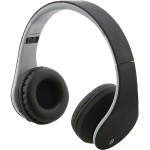 Bluetooth Headphones with Auxiliary Input (Matte Black)