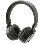 Bluetooth Wireless Headphones with Microphone (Black)