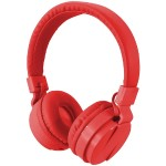 Bluetooth Wireless Headphones with Microphone (Red)