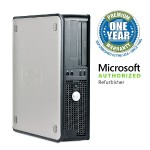 OptiPlex 780 Intel Core 2 Duo E8400 3.0GHz Small Form Factor PC - 8GB RAM, 500GB HDD, DVD-ROM, Gigabit Ethernet - Refurbished