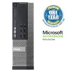 OptiPlex 990 Intel Core i5-2400 Quad-Core 3.10GHz Small Form Factor PC - 16GB RAM, 2TB HDD, DVD-ROM, Gigabit Ethernet - Refurbished