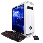 Gamer Xtreme GXi10160PCM Intel Core i5-7600K Quad-Core 3.80GHz Gaming Desktop - 8GB RAM, 120GB SSD + 1TB HDD, DVD±RW, Gigabit Ethernet