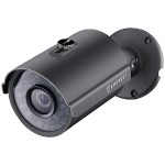3.0-Megapixel Outdoor Bullet PoE IP Camera (Black)