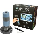 zPix 300 86x–457x Digital Microscope with Integrated Camera