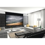 "Arcus Series 16:9 Motorized Projector Screen (110"", Slate Gray)"