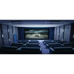 "Stratus Series 16:9 Fixed-Frame Screen (135"", Slate Gray)"