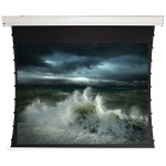 """Tauten Series 16:9 Tab-Tensioned Motorized Screen (135""""; Pearl White)"""