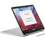 "XE513C24-K01US OP1 Hexa-core (Dual ARM Cortex-A72, Quad Cortex-A53) 2GHz Chromebook Plus - 4GB RAM, 32GB eMMC, 12.3"" LED Touch, 802.11 ac/a/b/g/n, Bluetooth 4.0, Webcam, 2-cell Li-Ion, Platinum Silver"