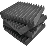 "12"" x 12"" Studio Soundproofing Recording-Foam Wall Tiles, 12-ct"