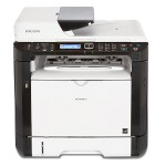 SP 377SFNwX - Multifunction printer - B/W - laser - A4 (8.25 in x 11.7 in), Legal (8.5 in x 14 in) (original) - A4/Legal (media) - up to 30 ppm (copying) - up to 30 ppm (printing) - 300 sheets - 33.6 Kbps - USB 2.0, LAN, Wi-Fi(n), USB host, NFC
