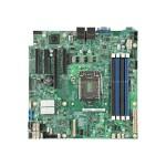 Server Board S1200SPLR - Motherboard - micro ATX - LGA1151 Socket - C236 - USB 3.0 - 2 x Gigabit LAN - onboard graphics