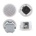 "Galil 4-C(W) - 4"" Closed-Back 2-Way Ceiling Speakers - White UL Approved"