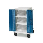 Core MS Charging Cart AC for up to 24 devices, with Back Panel, with 90° outlets