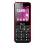 BLU Tank II T193 Unlocked GSM Dual-SIM Cell Phone - Black/Red