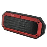 CBT16 Bluetooth and Waterproof Slim-Line Speaker - Red