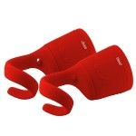 CBT10TWS Bluetooth and Waterproof True Wireless Stereo (TWS) Link Speaker - Red, 2pk