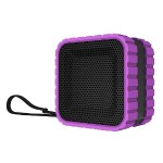 CBT14 Bluetooth and Waterproof Cube Speaker - Purple