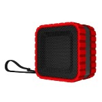 CBT14 Bluetooth and Waterproof Cube Speaker - Red
