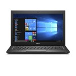 "Latitude 7280 with 3Y ProSupport - Ultrabook - Core i7 7600U / 2.8 GHz - Win 10 Pro 64-bit - 8 GB RAM - 256 GB SSD - 12.5"" 1366 x 768 (HD) - HD Graphics 620 - Wi-Fi, Bluetooth - black - with 3 Years  ProSupport"