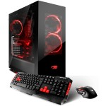 SN3101EI Intel Core i7-7700 Quad-Core 3.60GHz Gaming Desktop - 8GB RAM, 1TB HDD + 120GB SSD, 802.11ac