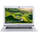 "Chromebook 14 CB3-431-C99D Intel Celeron N3060 Dual-Core 1.6GHz Chromebook - 4GB RAM, 16GB Flash Memory, 14"" HD 1366 x 768, IEEE 802.11ac, Webcam, 3-Cell 3920mAh Li-Polymer - Sparkly Silver"