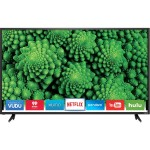 "D48F-E0 - 48"" Class (47.6"" viewable) - D-Series LED TV - Smart TV - 1080p (Full HD) 1920 x 1080 - direct-lit LED - black"